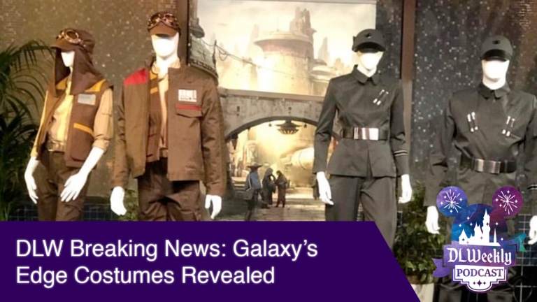 DLW Breaking News: Galaxy's Edge Costumes Revealed